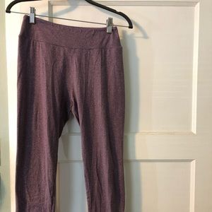 Heathered Mauve/purple LuLaRoe leggings